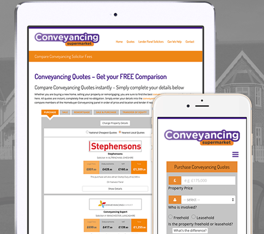 estate agent conveyancing quotes
