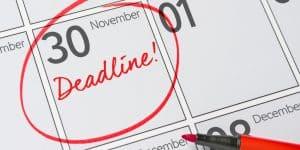 ISA Deadline