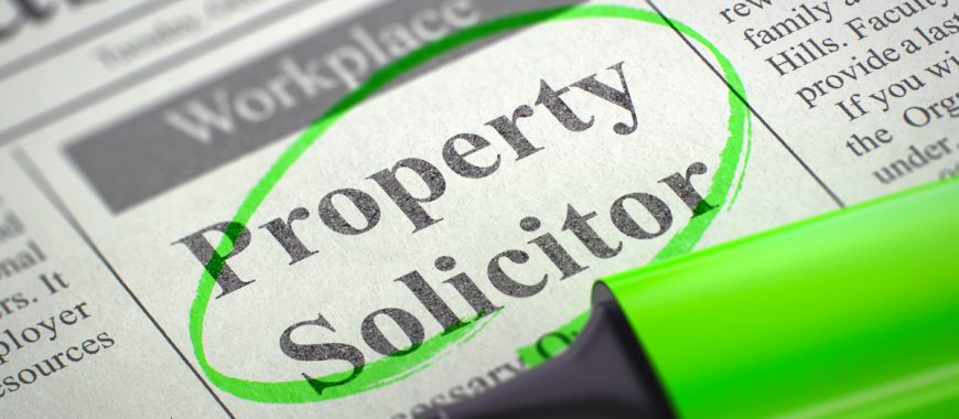 solicitor or conveyancer